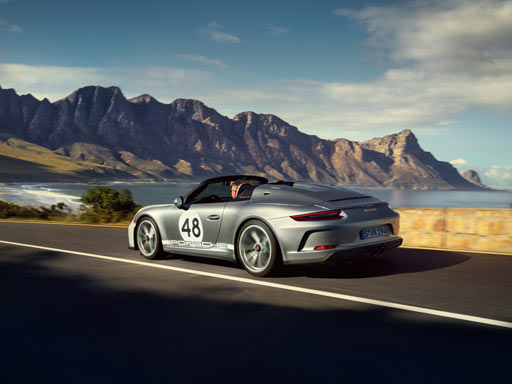 Tribute to a dream. Nuevo 911 Speedster.