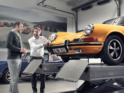 Porsche 33-Punkte-Check und Gutachten.