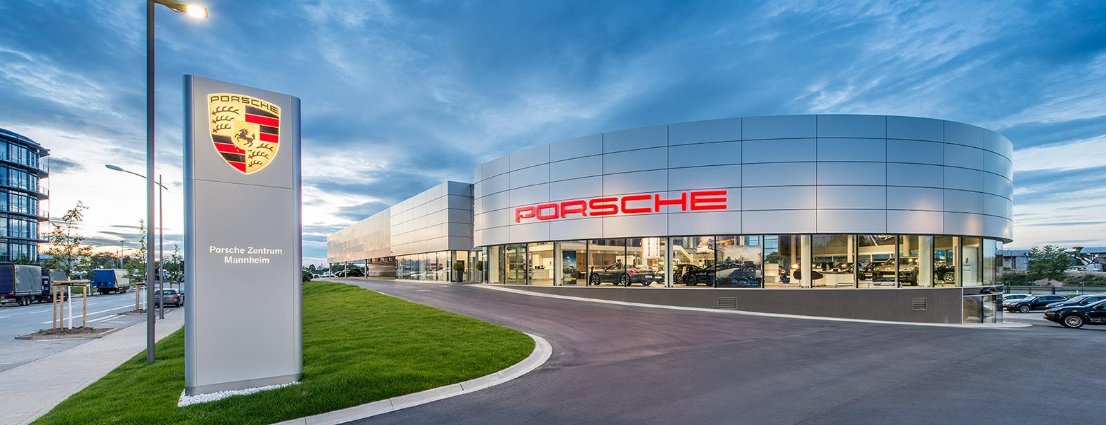 Porsche zentrum mannheim herzlich wilkommen im porsche for Garage europe auto center fresnes