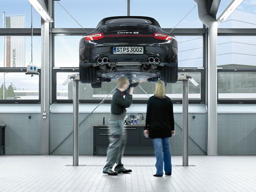 Das Porsche Zentrum Mannheim erzielt erneut den Porsche Service Excellence Award.